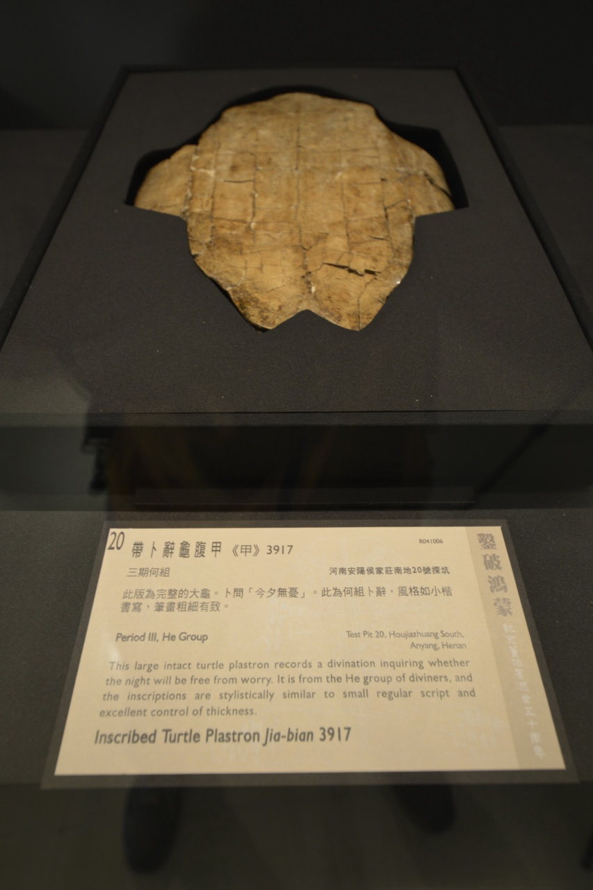 Oracle Bones From Chongqing to Taipei